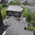 100518-65九州ロングツーリング・熊本城・大天守より小天守