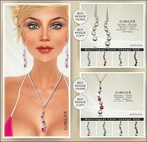 Burroughs Jewelry - Ginger Jewelry