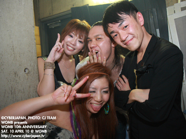 Photos: 100410 WOMB10th ANNIVERSARY PARTY @WOMB_01