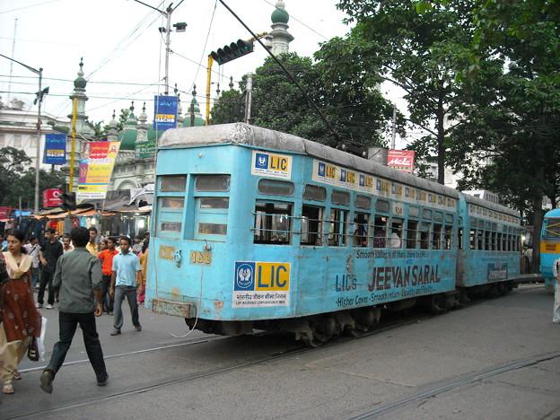 コルカタの路面電車