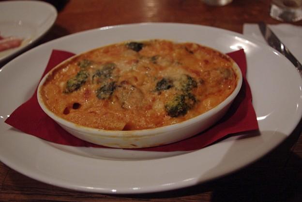 IMGP1237sarasavati牡蠣と緑野菜のグラタン