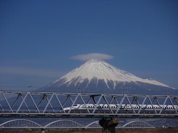 笠富士とN700系