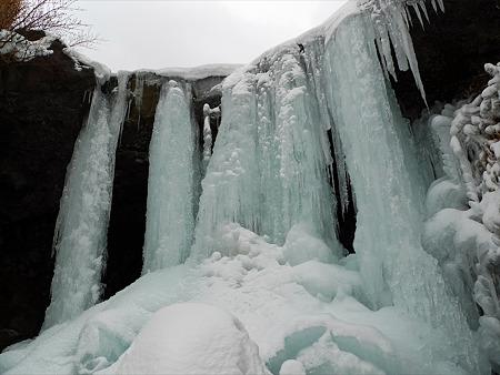 冬の仙酔峡(9)
