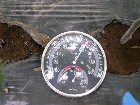 土中温度?