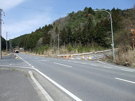 国道307号線旧道・裏白峠入り口