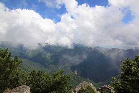 志賀高原ツーリング_20100718-135912笠ヶ岳