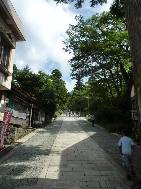 大山寺、大神山神社参道