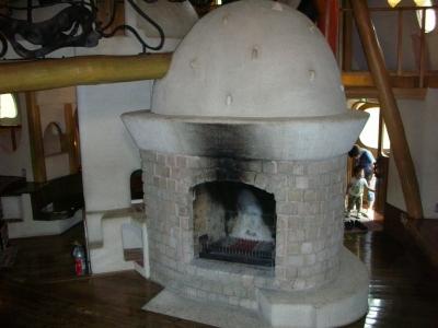 暖炉もあった