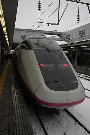 こまち21号 秋田到着