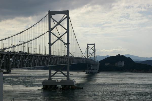 道の駅から見た大鳴門橋