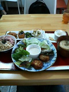 写真: 福禄寿茶屋なう。マクロビ薬...